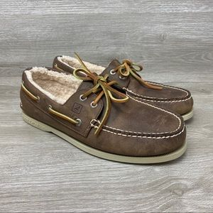 Sperry Top Sider Men's Shearling Lined Loafers